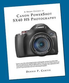 Canon Powershot SX40 HS Photography short book