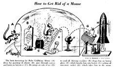 haha! Love Rube Goldberg machines. =)