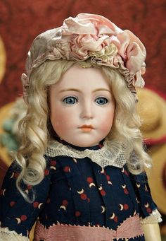 The Memory of All That - Marquis Antique Doll Auction: 144 Very Rare and Beautiful German Bisque Character, 111, by Simon and Halbig
