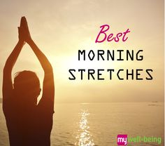 I really need these! Best morning #stretches to start your day.