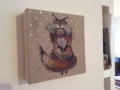 Fox by Olga Sugden