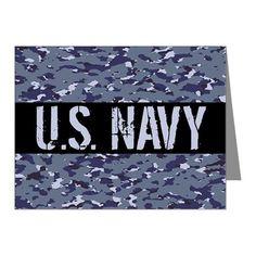 4da42137b3ca U.S. Navy  Camouflage (NWU I Note Cards (Pk of 20) on CafePress