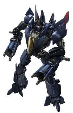 Transformers Generations Box Art: Fall of Cybertron Thundercracker
