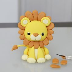 Lion cake topper tutorial