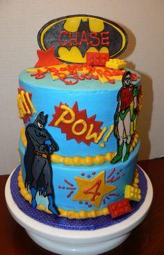 batman and robin cake - Google Search