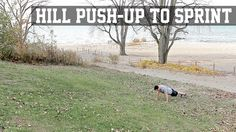 Hill Push-Up to Sprint - STACK