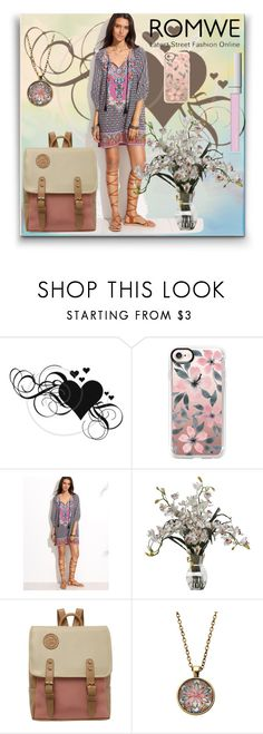 """""""Romwe"""" by evelynn-cole ❤ liked on Polyvore featuring Casetify and RMK"""