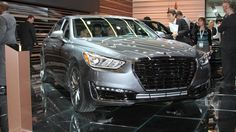 Photo: 2017 Hyundai Genesis G90 at the Detroit auto show Photo 1