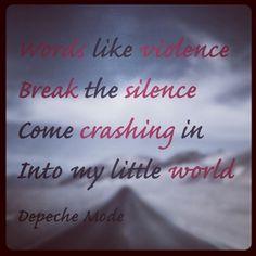 Depeche Mode Enjoy The Silence lyrics - Qwant Search