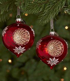 Retro Christmas Ornaments | Reba McEntire Collection