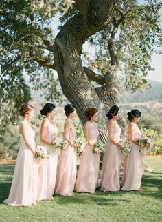 Bridesmaids wearing Jenny Yoo dresses | photography by http://ktmerry.com/