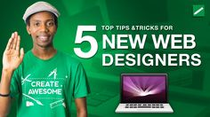 Top 5 Tips for New Web Designers 2016 Becoming a Web Designer isn't just learning Web Design principles or learning HTML Code. Getting hired as a web designer means understanding how users think and how to meet the needs of a real business.  Web Designers often have a tendency to prioritize the technical parts of a web design without thinking about how their work impacts the business. Believe me when I tell you that when you are hired a web designer the client or employer is more concerned…