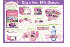 "Festa stampabile a tema ""Little Charmers"""