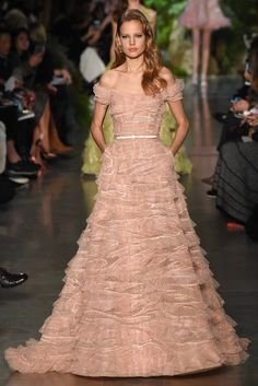 Elie Saab Spring 2015 Couture Fashion Show - Elisabeth Erm (Elite)