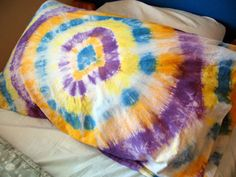 Tie Dye Pillowcase: Summer Camp Crafts and Lessons for Kids: KinderArt ®