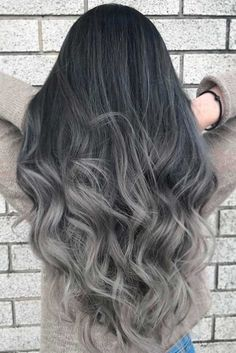 Whom does dark ombre hair suit? The opinions here may vary. But if you are searching for a contrasting look and you have dark natural hair – then you should totally try it out.