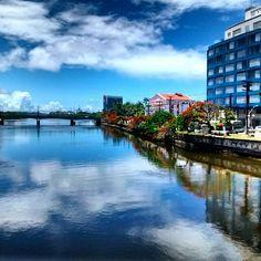 Vista para rua do Sol. Recife-Pernambuco-Brasil