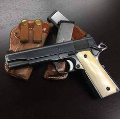 Bag full of guns: Photo 1911 Pistol, Colt 1911, Weapons Guns, Guns And Ammo, Pocket Pistol, Shooting Guns, Fire Powers, Cool Guns, Concealed Carry