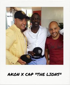 "Akon VS Richard Valentine's new cap ""The Lions"" during the Cannes Film Festival Richard Valentine, Cannes 2017, Cannes Film Festival, Lions, Luxury Branding, Cap, Mens Fashion, Women, Baseball Hat"