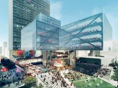 REX proposes cluster strategy for calgary's new central library