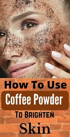 How To Use Coffee Powder To Brighten Your Skin – Care – Skin care , beauty ideas and skin care tips Beauty Tips For Skin, Skin Care Tips, Beauty Hacks, Skin Tips, Beauty Care, Natural Hair Mask, Natural Hair Styles, Natural Skin, Oily Hair