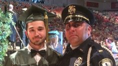 02-Jun-2015: Officer attends teen's high school graduation. The officer and teen met on 24-May-2015 when the officer came to the family home for notification that his parents had been killed in a motorcycle accident by a drunk driver.