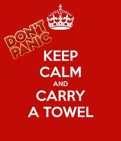 happy towel day to everybody