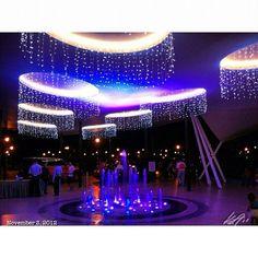 #噴水 #クリスマス #イルミネーション #フィリピン #fountain #christmas #lights #philippines