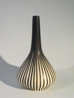 50er Jahre Keramik Vase VILLEROY & BOCH France Saar Maria Kohler - TOP!
