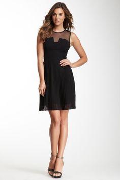 Sheer Yoke Dress by Julia Jordan on @HauteLook