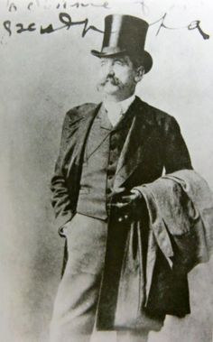 """Leonard Jerome, Wall Street financier, stock speculator and promoter known as """"The King of Wall Street"""".  Founded the Academy of Music, and the Coney Island Jockey Club  in partnership with Cornelius Vanderbilt.  Father of Jennie, Clara and Leonie Jerome.  Grandfather of Winston Churchill."""
