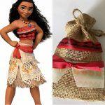 Fiesta infantil tematica de moana hawaiana - Tutus para Fiestas Mexico - Disfrases personalizados y moños