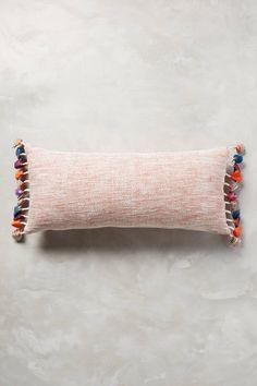 Tasseled Jacare Pillow - anthropologie.com