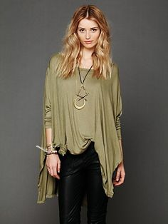 Big Dipper Oversized Tee $58.00 Notice the knot in the front so it hangs right.