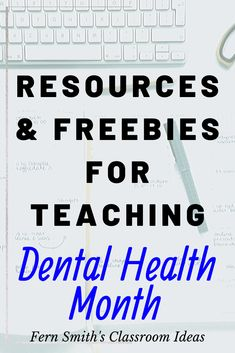 Fern Smith's Classroom Ideas for Dental Health Month with a Freebie! Vowel Worksheets, Kindergarten Worksheets, Math Subtraction, Addition And Subtraction, Second Grade Teacher, First Grade Math, Dental Health Month, Writing Station, Classroom Management Tips