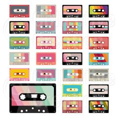 cassette tape labels - Google Search