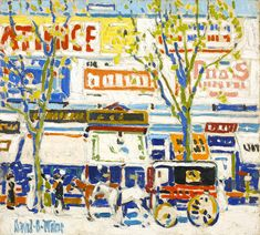"""David Milne: Modern Painting"", on view at the Dulwich Picture Gallery in London, U., traces Milne's various influences, exploring the process by which he established himself as a radical and experimental artist. Ottawa, David Milne, Art Inuit, Dulwich Picture Gallery, Vancouver Art Gallery, Galleries In London, Classic Paintings, Canadian Artists, Famous Artists"