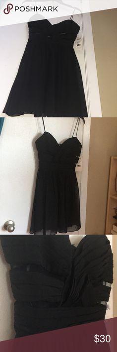 LBD✨✨✨ GORGEOUS, GIRLY LBD!  Gorgeous detailing!!  NEVER WORN TAG STILL ON Dresses Mini