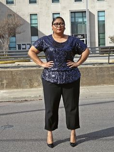 Sophisticated sequins #plus #size
