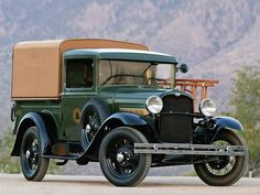 """1931 Ford Model A Pick Up. An old """"Ma Bell"""" (AT&T) truck."""