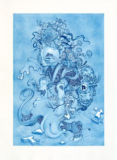 "James Jean Presents New Works in Tokyo Exhibit ""Zugzwang"" 