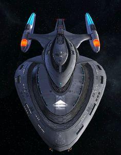 Starfleet Federation Command Ship 2