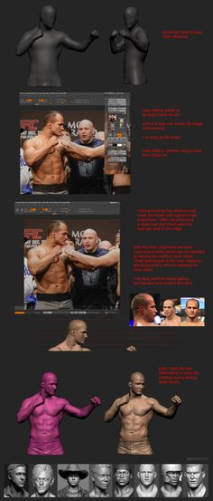 """Junior """"Cigano"""" dos Santos By grassetti October 18, 2013  Over the past couple years I've been doing a lot of portraits professionally for games, toys and statues so i finally decided to spend some time and work on something personal to share some of the techniques that i use."""