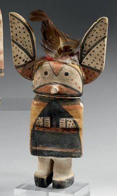 Eblouissant Kachina aux ailes -oreilles de papillon Hopi, Arizona, U.S.A.