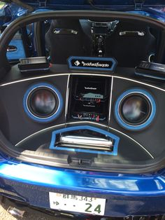 Custom Car Audio, Custom Cars, Car Audio Installation, Custom Car Interior, Car Audio Systems, Rockford Fosgate, My Ride, Diy Design, Automobile