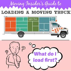 Everything is packed, the moving truck is outside. There are many different ways to pack a moving truck but this method will ensure a smoother move.