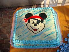 bolo Mickey pirata