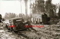 Foto 2 WK, org. Negativ,Ostfront, Rollbahn, WH Fahrzeuge, Vormarsch, Schlamm,Top in Sammeln & Seltenes, Militaria, 1918-1945   eBay