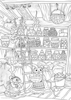 Thrifty Mice - Printable Adult Coloring Page from Favoreads Coloring book pages for adults and kids Coloring sheets Coloring designs Forest Coloring Pages, Abstract Coloring Pages, Printable Adult Coloring Pages, Flower Coloring Pages, Animal Coloring Pages, Coloring Sheets, Coloring Books, Mandala Coloring, Free Coloring