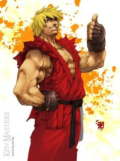 Ken Masters, is a video game character in the Street Fighter series. Being one of the main character and the best friend and rival of Ryu, Ken has appeared in a Ken Street Fighter, Street Fighter Alpha, Super Street Fighter, Marvel Comics, Anime Comics, Ken Masters, Bartop Arcade, World Of Warriors, King Of Fighters